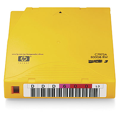 Картриджи HP Ultrium 800GB RW Labeled 20pk Crtg (C7973AL)